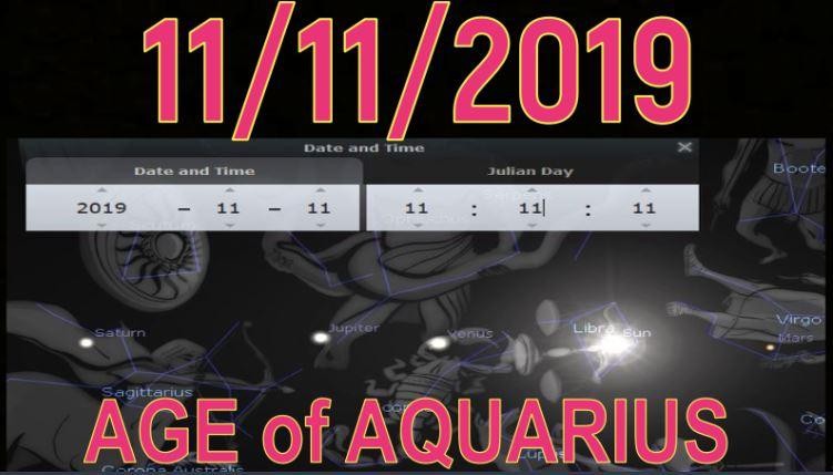 Age of Aquarius 11-11-19