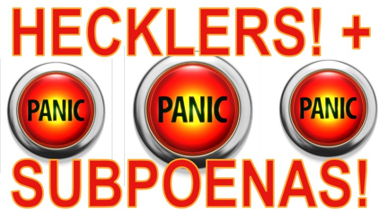 Hecklers & Subpeonas – Can't Walk The Streets!