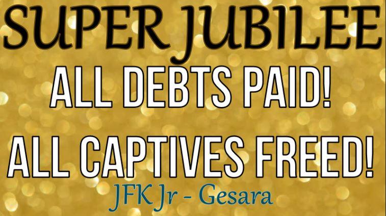 Jubilee = Reset = Gesara = Freedom    JFK Jr
