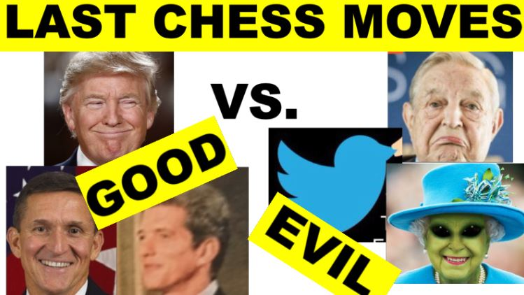 Last Chess Moves  Good vs Evil