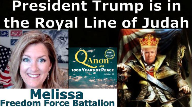 President Trump Is In The Royal Line Of Judah – Charlie