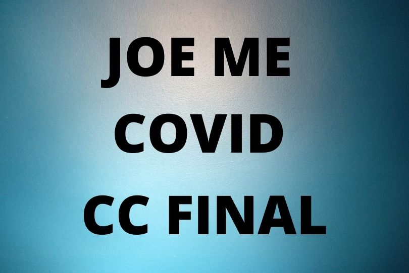 Joe Me Covid CC Final
