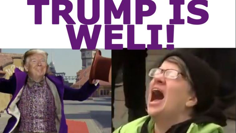 Trump Weli – Playing German Card Game vs Deepstate, Gesara, Swift