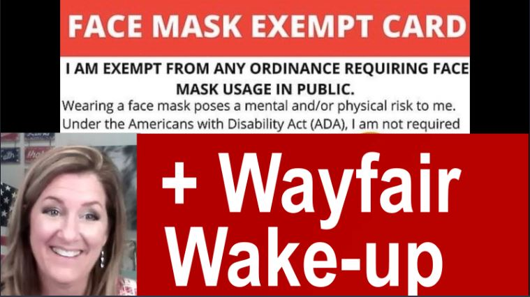 Wayfair Trafficking Caught in the Act, Mask Free!  Kanye song