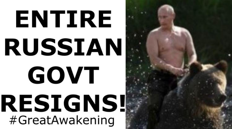 Truth about Putin – Russian Government Resigns!