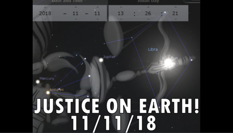 Star Sign in Libra 11/11/18 – JUSTICE!