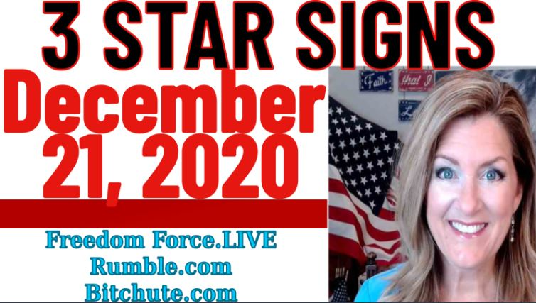 December 21, 2020 – 3 Star Signs Mark the End of the Cabal