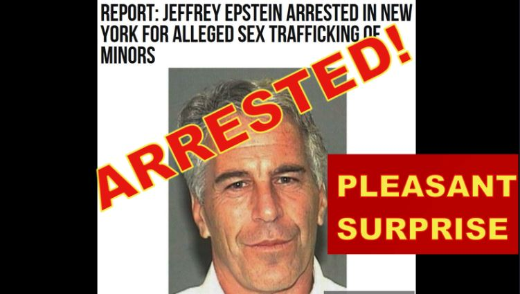 Epstein – Removing Pedo Network, Joel 2 Bright Future!