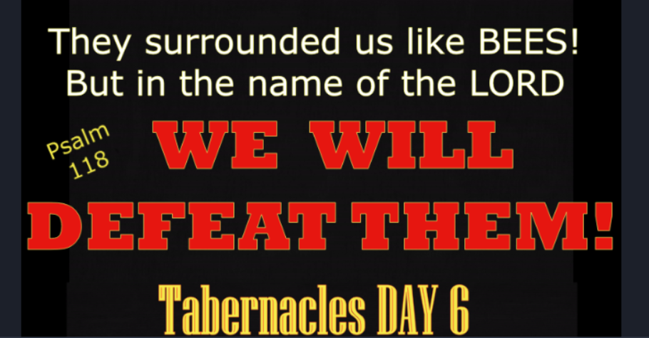 Tabernacles 6