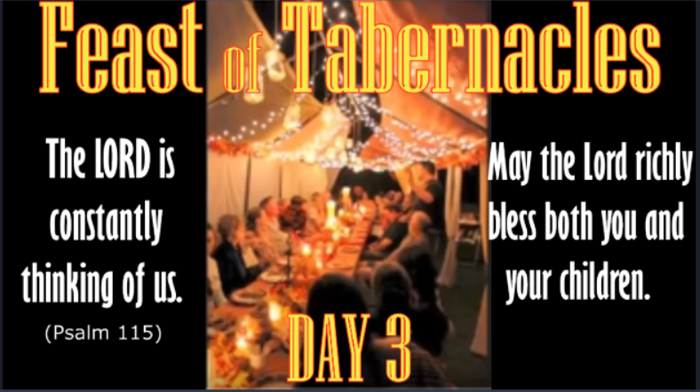 Tabernacles 3