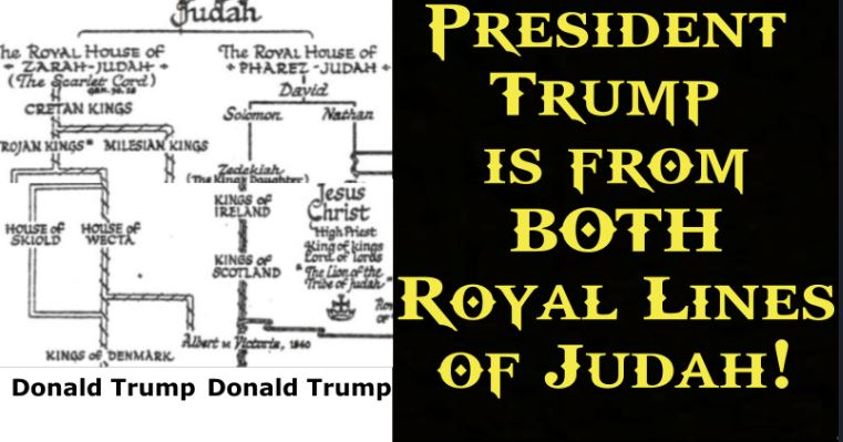 Trump is from both Zarah & Perez lines of Judah