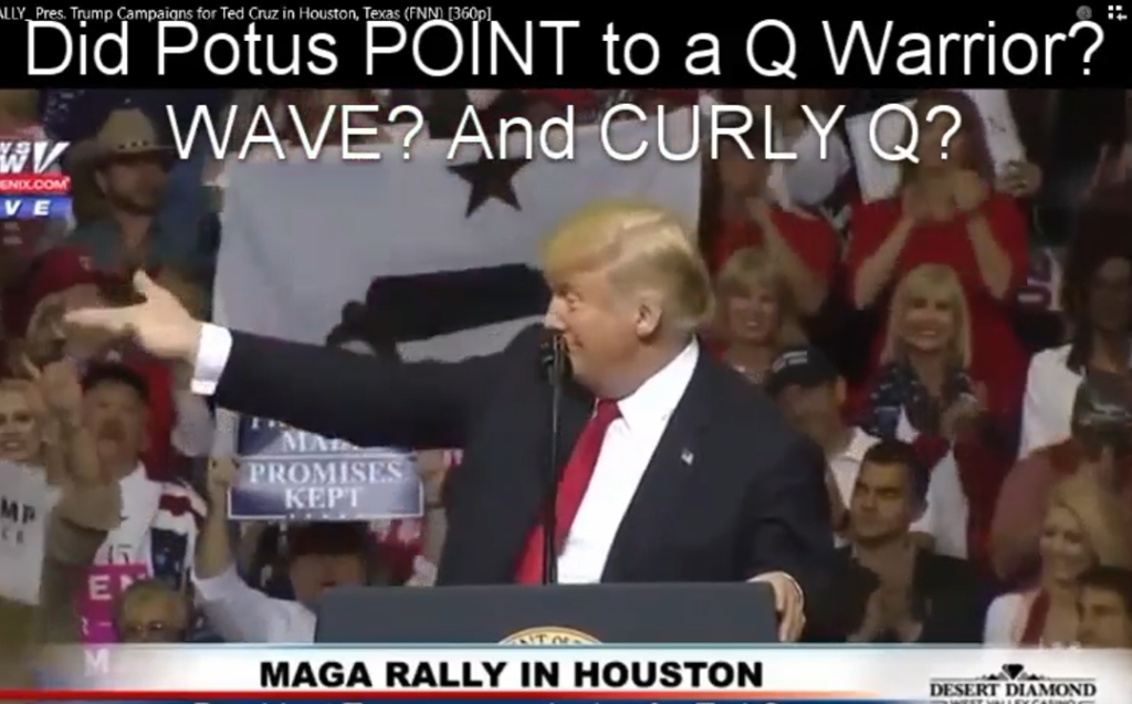 Trump Thumbs Up & Q?   Zechariah 12 =Deliverance!