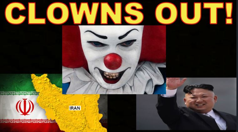 Clown C_A Removed from North Korea, Cabal Takeover of Iran (BP),  Trump speech
