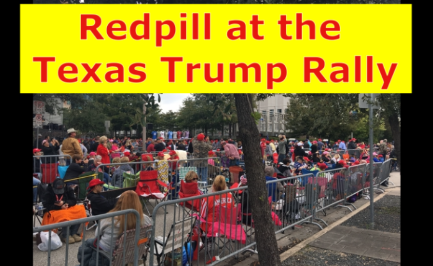 Trump Rally in Texas with Melissa Redpill