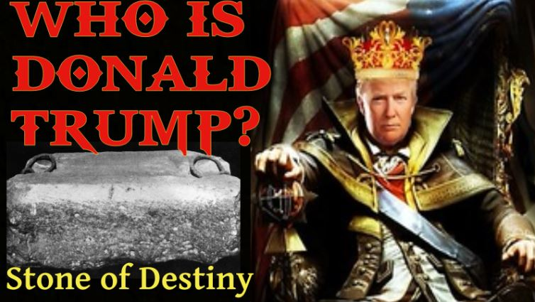 Trump and The Stone of Destiny – Stone of Scone – Jacob's Pillar