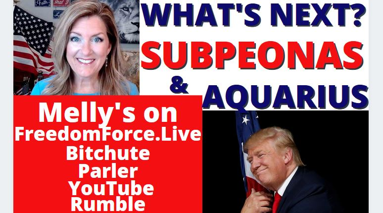 What's Next? Subpeonas, Congress, Kim Clement, Aquarius is Next!