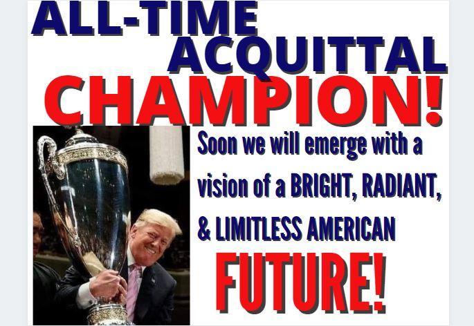 Acquitted Again! President Trump Speaks, Almond Tree Awakening 2-14-21-