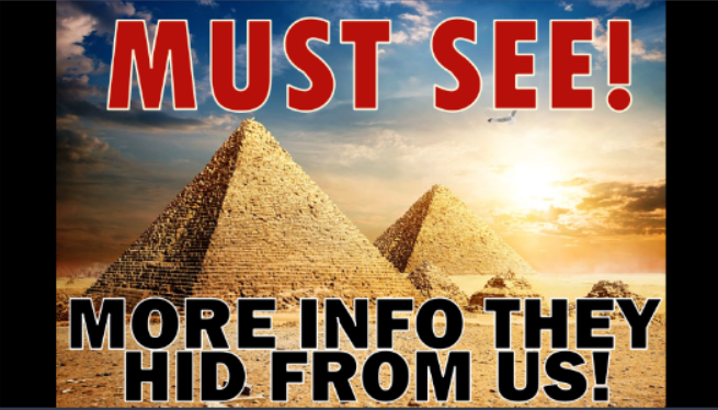 Inside the Great Pyramid of Giza – Gospel Story
