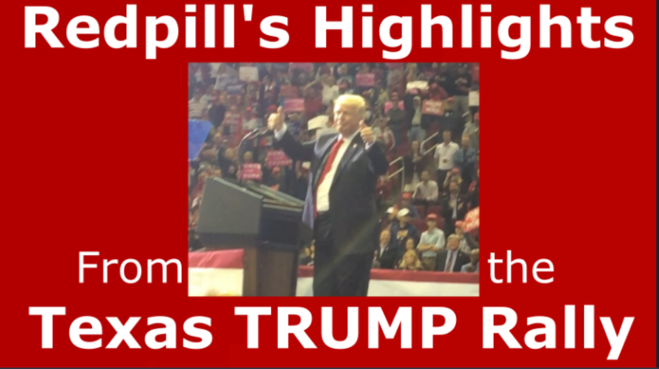 Trump Rally Thumbs Up for the FFB!