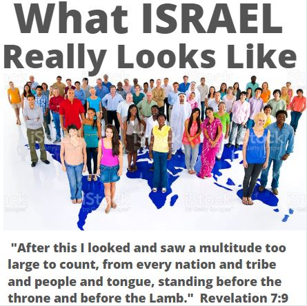 What Israel REALLY Looks Like 4-22-21  – Jacob's Ethnically Diverse Family