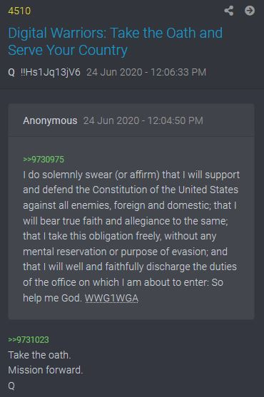 Take the Oath