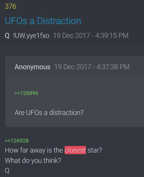 How Far is the Closest Star? Q376 (Isaiah 40 – LORD enthroned; Psalm 19