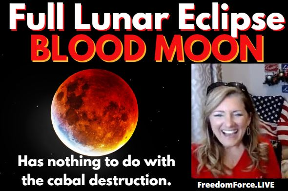 Full Lunar Eclipse BLOOD MOON – Nothing to do with the Cabal Destruction? 4-30-21