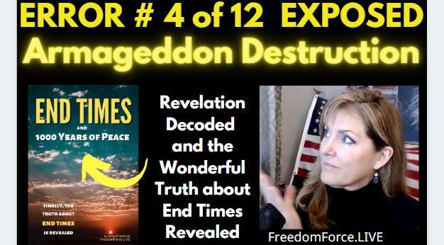 END TIMES DECEPTION ERROR # 04 OF 12 EXPOSED! ARMAGEDDON JEZREEL VALLEY 5-19-21