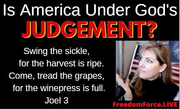 IS AMERICA UNDER GOD'S JUDGEMENT? SWING THE FAUCI! JOEL 3 5-30-21