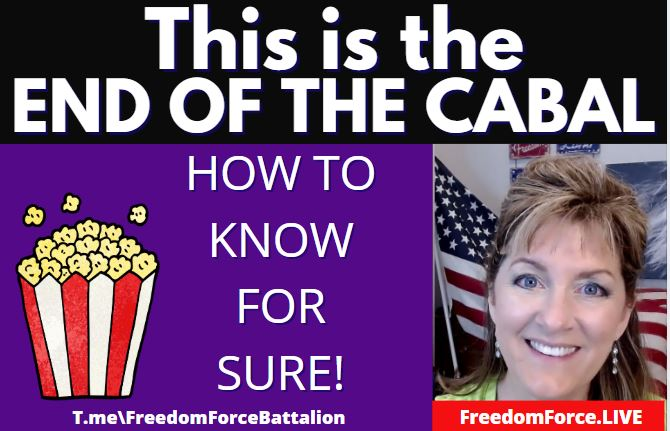 THIS is the End of the Cabal – How to Know FOR SURE! (Omer Day 6) 4-9-21
