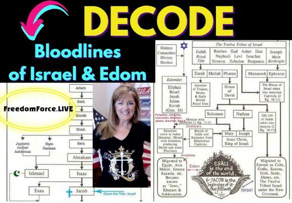 DECODE – BLOODLINES OF ISRAEL & EDOM 6-2-21