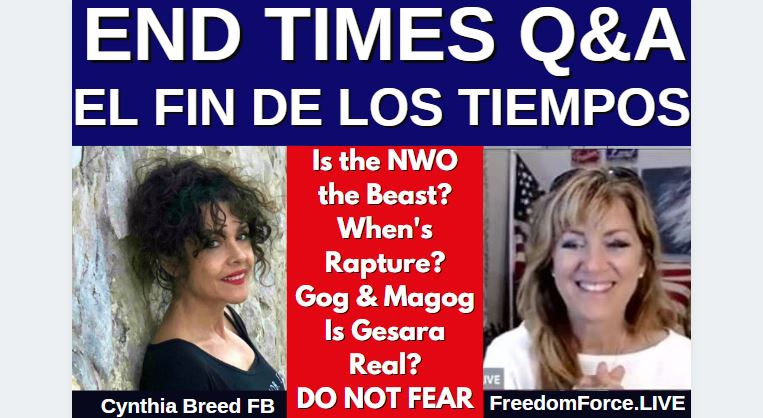 """FOR SPANISH SPEAKERS!! Q&A END TIMES """"FIN DE LOS TIEMPOS"""" SPANISH & ENGLISH 6-30-21"""