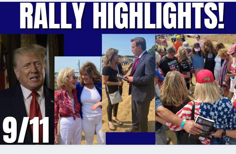 Brad Barton Rally in Kentucky & Trump on 9/11 9-13-21